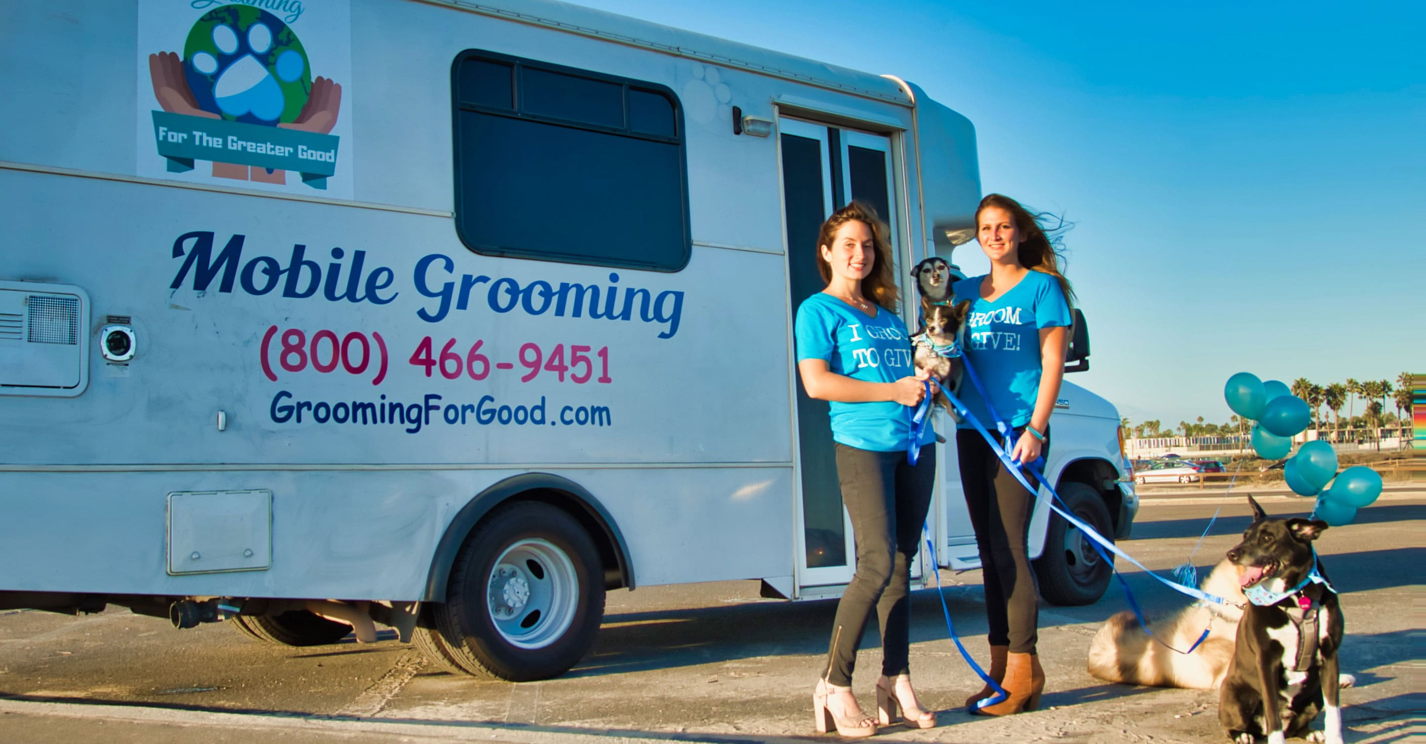 Mobile Pet Grooming in Orange County